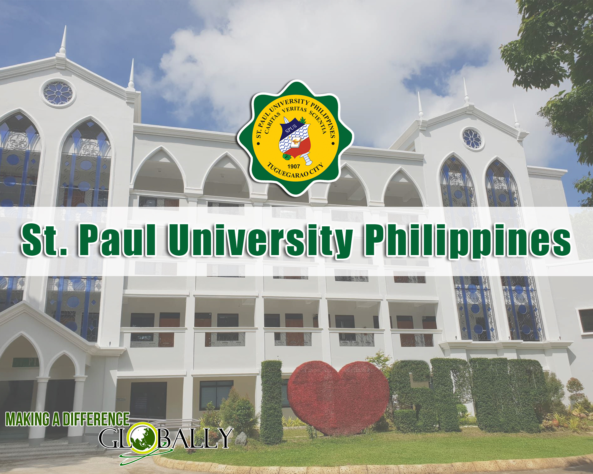 St  Paul University Philippines - Making a Difference Globally!